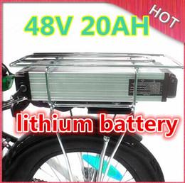 Canada Ebike batterie au lithium 48v 20ah lithium ion vélo 48v scooter électrique batterie pour kit vélo électrique 1000w avec BMS et 2A chargeur Offre
