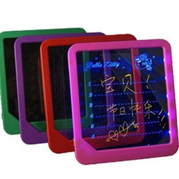 Wholesale Message Board Fluorescence - LED message board  Led Writing Board  led display fluorescence plate with a highlighter free to write