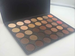 Wholesale N W E - DHL free NEW 35 color Natural Matte Eyeshadow palette 35 O A B C D E F N P T W version