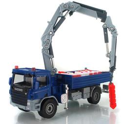 Wholesale Wholesale Super Mini Trucks - 2016 Super Cool ! 1 : 50 Alloy Slide Toy Models Construction Vehicles, Crane Truck Model, Baby Educational Toys