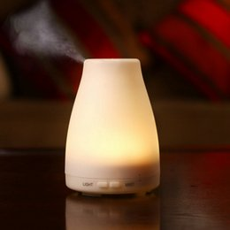 Wholesale Aroma Wedding - 100ml Essential Oil Diffuser Portable Aroma Humidifier Diffuser LED Night Light Ultrasonic Cool Mist Fresh Air Spa Aromatherapy
