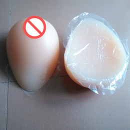 Wholesale Sexy Silicone Breast Forms - Topleeve Huge Sz Full Teardrop Shape Sexy Realistic Silicone Breast Form Artificial Boobs Crossdresser Trandsgender User