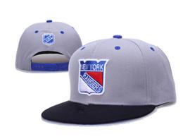 Wholesale Snapback Caps New York - 2016 fashion style newst cotton Snapback Hats Hip Hop NEW YORK RANGERS Baseball Caps For Men Women adjustable hot sell cap Free Shipping