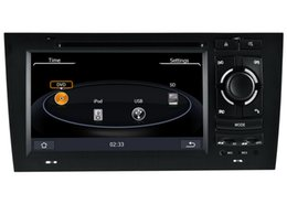 Wholesale A6 Dvd Player - 2-Din Car DVD Player GPS Navigation for 1997-2004 Audi A6 with Stereo Bluetooth Radio USB AUX SD RCA Video Stereo
