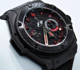 Wholesale Power King - AAA Top Quality POWER F1 King Power Luxury Mens Watch Quartz Watches Leather Band Mens Dive Men's Sport Wristwatches