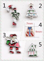 Wholesale Cross Christmas Ornaments Wholesale - Cross Diy Animal Charms 5pcs Christmas Santa Claus Mix Metal Charms Pendants DIY Jewellery Making Crafts Christmas Charms Lot