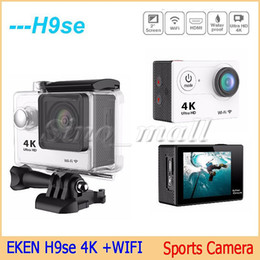 Wholesale Cheapest Outdoor Cameras - Cheapest 50pcs Free DHL WIFI 4k Sports Camera H9se 2-Inch 1080p 60fps Mini DV Outdoor Sports Camera