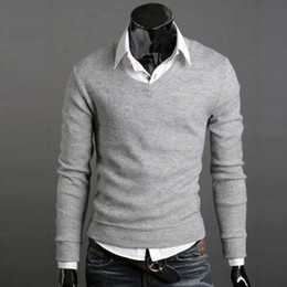 Wholesale High Neck Turtlenecks - Wholesale-2016 New Fashion Winter Warm High Quality Men Sweater Turtleneck Pullover Thermal Sweater Multi Color Solid Design Soft And Warm