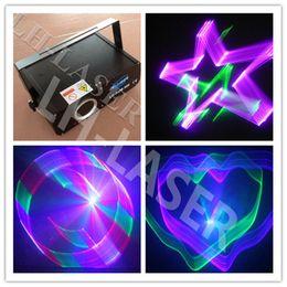 Wholesale Animation Mini Stage - MINI 500mw rgb laser light 500mw full color animation laser light 3d effect 500mw rgb laser projector