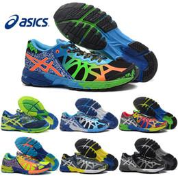 Wholesale Hockey Free - Asics Gel-Noosa TRI 9 IX Running Shoes For Men High Training 2016 New Lightweight Walking Sport Shoes Size 7-11 Free Shipping