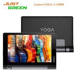 Wholesale Qualcomm Quad - Original Lenovo YOGA 3-X50M 4G Android 5.1 Tablet PC 10.1 inch 1280X800 MSM8909 Quad Core 2GB RAM 16GB ROM 8MP Camera