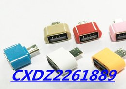 Wholesale Otg Cable Micro Usb Mini - Micro USB smartphone MINI OTG adapter, better than OTG cable Android mobile phone microusb female USB A flash drive reading disk data