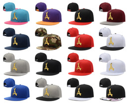 Wholesale Tha Alumni Snapbacks - 2016 New Fashion THA Alumni Iron standard hip-hop hat Gold Logo Leather Snapback Caps Black Red Brand Hip Hop Men's Adjustable sports hats
