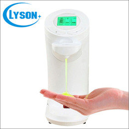 Wholesale Wall Mounted Hand Soap Dispensers - China Suplier Touchless Auto Soap Dispenser with LCD Wall-mounted home hand dish auto soap magic machine