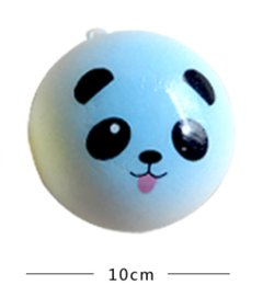 Wholesale Panda Ornament - Student birthday gift creative jewelry ornaments selling cartoon animals 10mm panda simulation bread