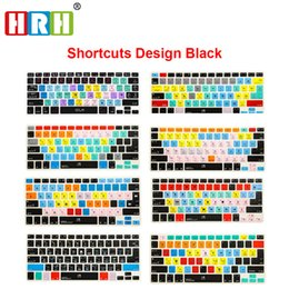 Wholesale 15 17 Laptop - HRH Ableton Live Logic Pro X Avid Pro Tools Shortcut Keyboard Cover Skin For Macbook Pro Air Retina 13 15 17 All Before 2016