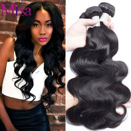 Wholesale Malasian Hair Weave - Malaysian Virgin Hair Body Wave Unprocessed virgin Malaysian Body Wave 3 Bundles lot 100% Human Hair Extensions Malasian Virgin Hair Weave