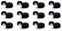 Wholesale Team Hat Brands - New Caps 2016 Baseball Snapback Caps Leather Bill Hats Full Black Color Team 47 Brand Hats Mix Match Order All Caps in stock Top Quality Hat