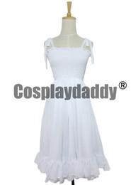 Wholesale Miku Dress - Hatsune Miku Vocaloid ruka COS vestidos dress women braces skirt cosplay