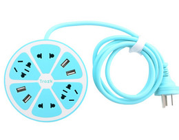 science pack Rabatt factory directly sale!Ning Meng U station Creative lemon strip plug cable USB charging port Smart Switch