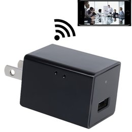 Wholesale Security Box Camera Wifi - New Mini Wifi Surveillance Camera HD P2P Hidden Camera & USB Wall Charger Portable IP Camera for Nanny Cam Home Security With Retail Box