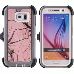 Wholesale Iphone Phone Belt Clips - For Samsung galaxy S7 edge s6 edge S5 Note 5 PC&TPU rugged case 3 layer with screen protector belt clip Samsung sports phone case