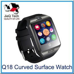 Wholesale Remote Iphone Support - Q18 Apro Smart Watch 1.54 inch HD NFC Bluetooth 3.0 Support Sim Card 32TF Card For Android IOS iPhone VS DZ09