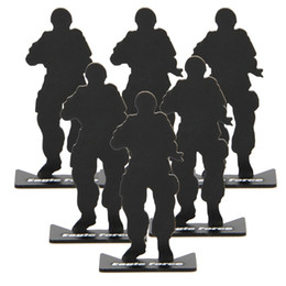 Wholesale Full Metal Airsoft - 10pcs lot full metal soldier model target for airsoft free shipping