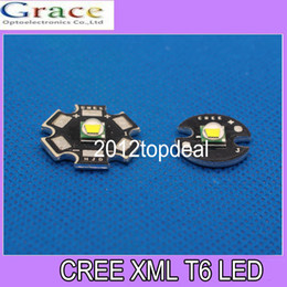 Wholesale High Power Led Pcb - Wholesale-1 PCS CREE XML LED T6 U2 10W WHITE High Power LED Emitter with 16mm 20mm PCB for DIY
