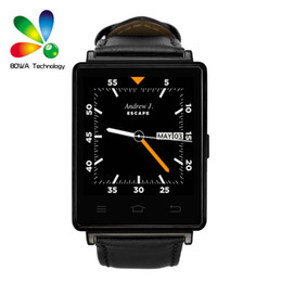 Wholesale NO D6 Smart Watch MTK6580 Android Smartwatch support what s app facebook Heart Rate Browser for Android