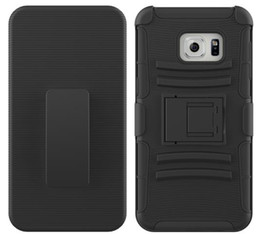 Hybrid-roboter combo telefon fall online-Für Samsung Galaxy Note 7 5 4 3 3 in 1 Bunte Tough Holster Combo Roboter Hybrid Defender Rüstung Telefon Fall Hard Cover