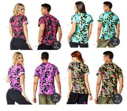Wholesale Funky Red - woman T shirt Da Funky Tee Crew Neck T-Shirt Dance yoga tops green red purple blue