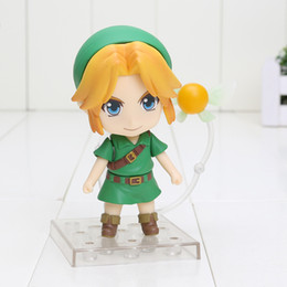 Wholesale Model Figures - 10cm The Lengend Of Zelda Link Majora's Mask 3D Version 553 PVC Action Figure Collectable Model toy free shipping retail