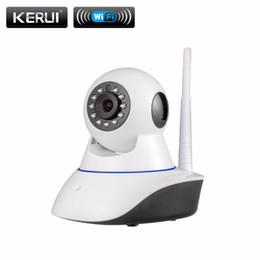 Wholesale Megapixel Cctv Lens - 720P Security Network CCTV WIFI IP camera Megapixel HD Wireless Digital Security ip camera IR Infrared Night Vision alarm system