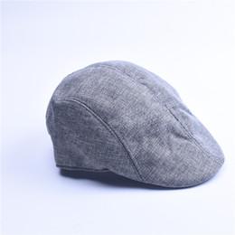 7aab4ab9238 Brand Beret Hat Retro Men and women Gorra De Beisbol Casual Unisex Denim Beret  Caps Fitted Flat Sun Cap for Cowboy