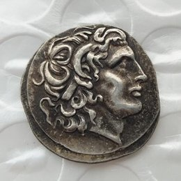 Wholesale Greek Box - G(01)rare ancient coin Alexander III the Great 336-323 BC.Silver Drachm Ancient Greek Coin copy coins wholesale