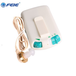 Wholesale Invisible Hearing Aids - 2017 good quality invisible amplifier price S-7B hearing aid wires, body aid hearing aid cords free shipping