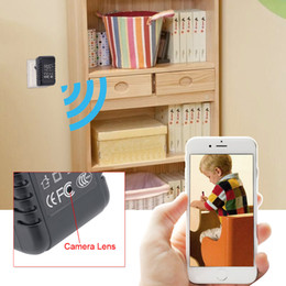 Wholesale Wifi Ip Camera Free Shipping - HD 1080P SPY Hidden Wall Charger WiFi IP Camera Adapter DVR Video Recorder Camcorder US Adapter Free Shipping