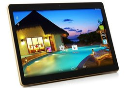 Wholesale Dual Core Resolution - 10-inch 1280 * 800 resolution Android tablet IPS HD quad-core ultra-thin MTK6582 1 + 16GB Memory Dual Card 3G call dual card dual standby fr