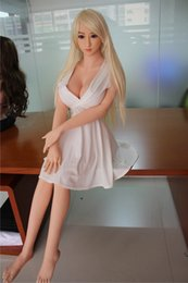 Wholesale Sex Dolls Real Photos - 158cm Full Silicone Breast doll 100% Same As Photo Lifelike Full Metal Skeleton Blond Hair Big Boobs Real Sex doll