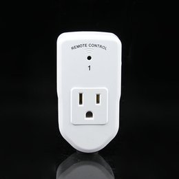 Wholesale Remote Electrical - 3 +1 US Plug Wireless Remote Control Smart Electrical Outlet Switch Socket Household Appliances