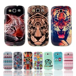 Wholesale Galaxy S3 Flag - Wholesale-Fashion Owl Tower Flag TPU Soft Case For Samsung Galaxy S3 SIII I9300 Silicone Back Skin Cover Cell Phone Protect ShockProof Bag