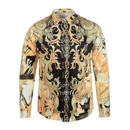 Wholesale Relaxed T Shirt - 2017 Spring Designer 3D Dragon Printing Men Women T-shirts Fashion Casual Yellow Long Sleeve Relax Tshirts