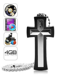 Wholesale Necklace Hidden - Cross Necklace Spy Camera, Ultimate Hidden Digital Camcorder- 4GB Memory, Mini DVR Camera & Audio, Easy to Use Portable Candid Camera