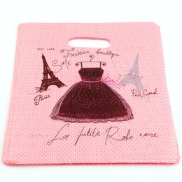 Wholesale Eiffel Jewelry - Hot sell ! 300pcs 20X25cm Eiffel Tower Plastic Bags Jewelry Gift Bag, Jewelry Pouches