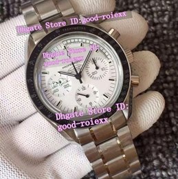 Wholesale Moon Steel - Top Quality Mens Chronograph Mechanical Moon Watch Men's Valjoux Snoopy Eta Cal 7750 Men Failure Is Not An Option Axial Sport Watches