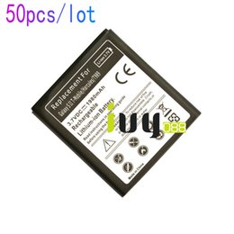 Wholesale Hercules Battery - 50pcs lot 1980mAh EB-L1D7IBA U Replacement Battery For Samsung Galaxy SII T-mobile Hercules T989 i515 i717 E110S E120L S K i727 i547 L700