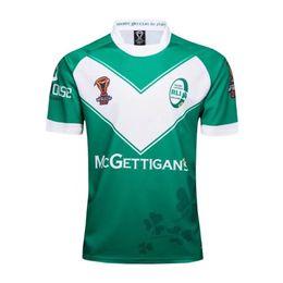 Wholesale Irish Rugby Shirt - 2018 Ireland rugby jersey 17 18 Irish Home Rugby Jersey Men Short Sleeve Original Jerseys Rugby Shirt 2018 Ireland Uniforms