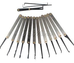 Wholesale Tubular Practice Lock - 12pcs Set Locksmith Equipment Lock Key Extractor Traning Practice Repair Tools