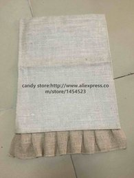 Burlap gifts nz buy new burlap gifts online from best sellers 100pcs diy monogram burlap garden flags jute liene yard hanging flag house decoration banner ads easter gifts negle Images
